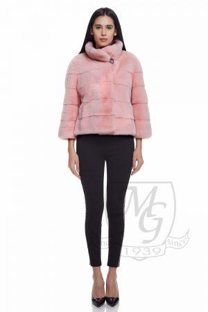 Jacheta vizon roz