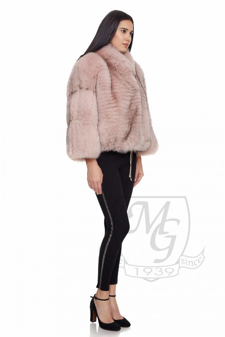 Jacheta vulpe roz quartz