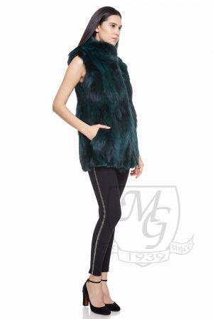 Vesta vulpe vopsita verde, model 5727