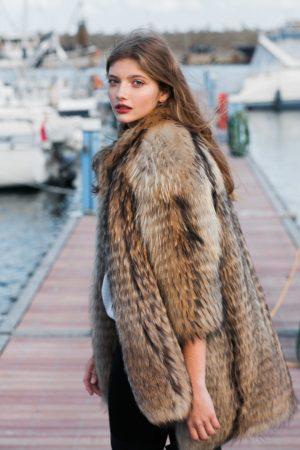 Jacheta din raton finlandez